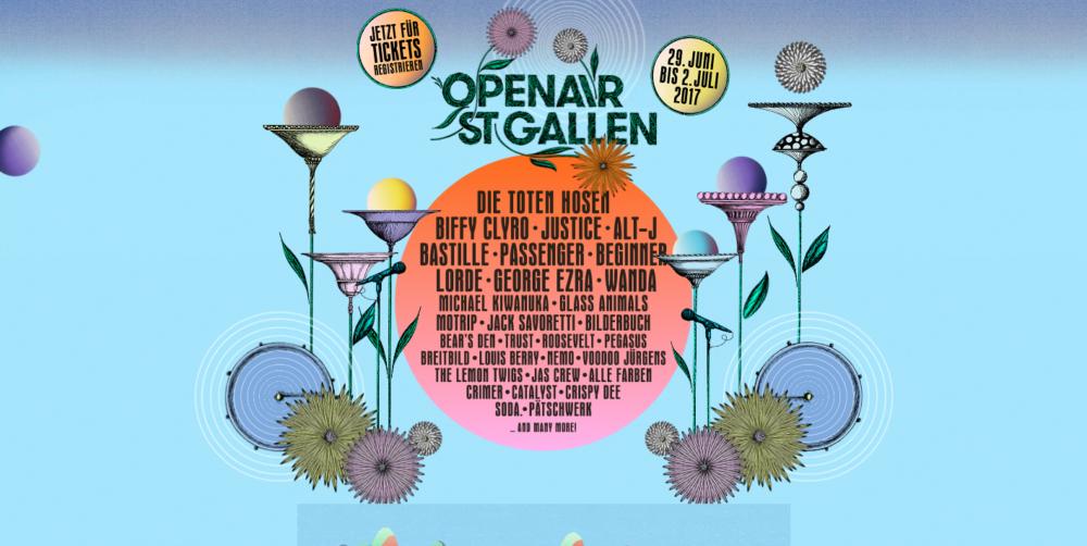 Breitbild am OpenAir St.Gallen