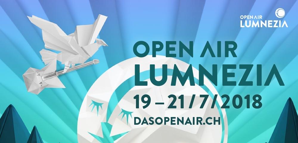 Breitbild am Open Air Lumnezia 2018